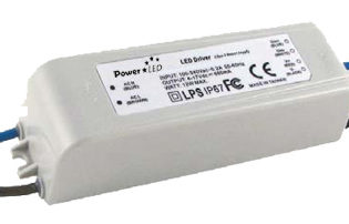 12W 4V-35V 350mA Dimming IP67 Rated Constant Current LED Lighting Power Supply