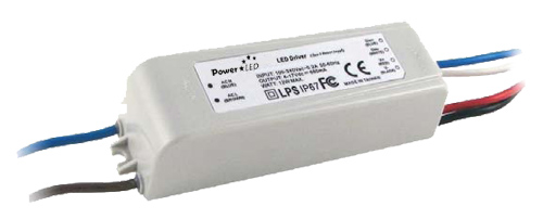 12W 4V-17V 700mA Dimming IP67 Rated Constant Current LED Lighting Power Supply