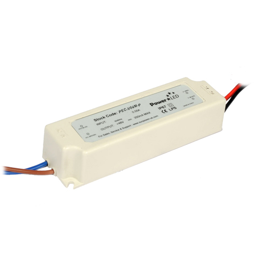 41.04W 54V 0.76A IP67 Rated Dimmable Constant Voltage LED Lighting Power Supply from PowerLED