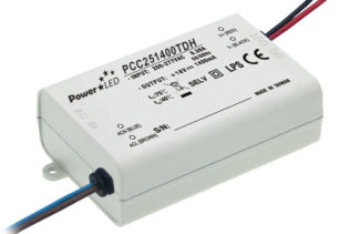 25.2W 24-36V 700mA Triac Dimming Non IP Rated Constant Current LED Lighting Power Supply from PowerLED