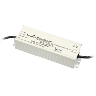 60W 12V 5A IP67 Rated Constant Voltage LED Lighting Power Supply with Dimming
