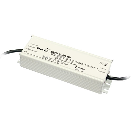 60W 12V 5A IP67 Rated Constant Voltage LED Lighting Power Supply with Dimming from PowerLED LED Lighting Power Supplies