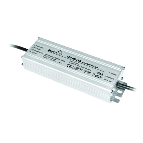 PCV24150E 150W 24V 6.3A IP67 Rated Constant Voltage LED Lighting Power Supply from PowerLED