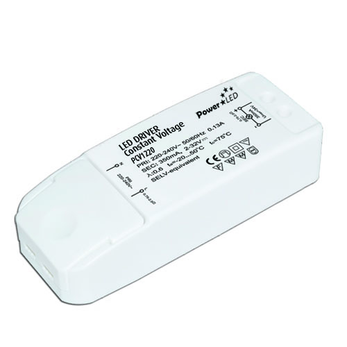 PCV1203 3W 12V 0.25A Non IP Rated Constant Voltage LED Lighting Power Supply from PowerLED