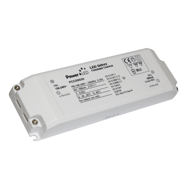 PCC30W-60W Series Non IP Rated Constant Current LED Driver