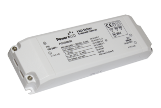 PCC50030 30W 28-56V 500mA Non IP Rated Constant Current LED Lighting Power Supply