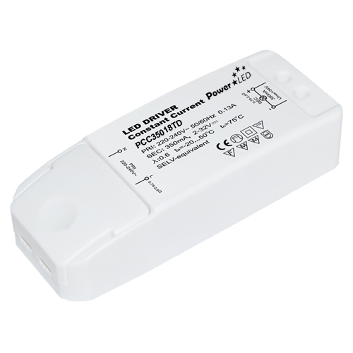 PCC50012 12W 2-24V 500mA Non IP Rated Constant Current LED Lighting Power Supply from PowerLED