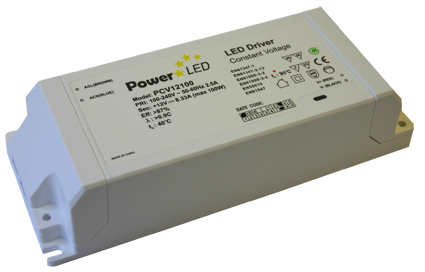 PCV100 Series - 100W Constant Voltage LED Drivers