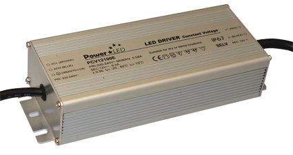 PCV-100E Series - 100W IP65 Constant Voltage LED Drivers