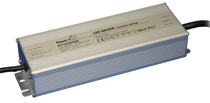 PCV-240E Series - 240W IP65 Constant Voltage LED Drivers
