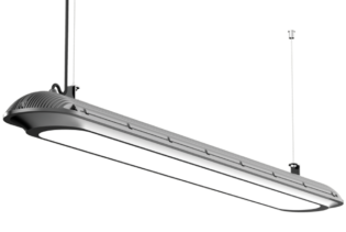 AERO45 Series - 45W IP65 RoHS Complaint Energy Saving Vapour Proof LED Light Fittings