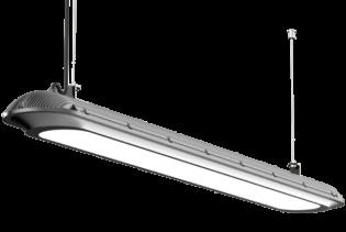 AERO45N - 45W IP65 RoHS Complaint Energy Saving Neutral White Vapour Proof LED Light Fitting