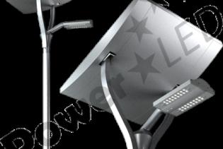 SOLAR5100 - 58W/64W IP65 RoHS Compliant Natural White Solar LED Street Light