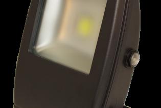 30W IP65 Rated High Power Energy Saving Warm White Dawn to Dusk Sensing LED Floodlight