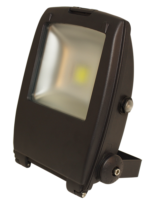 30W IP65 Rated High Power Energy Saving Cool White Dawn to Dusk Sensing LED Floodlight