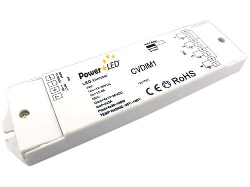 CVDIM1 - 1-10V Series Dimmer from PowerLED