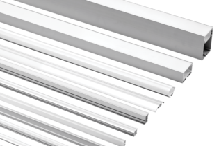 Aluminium Extrusions for LED Flexible Tape - EXT Series