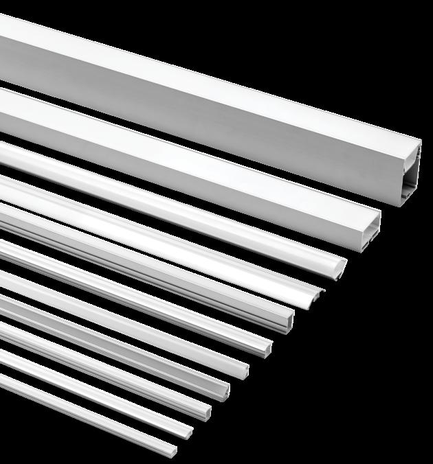 EXT Series Aluminium Extrusions