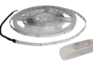 ECO2MPW 2 Metre Low Power Warm White IP20 Rated Energy Saving LED Flexi Strip Kit from PowerLED