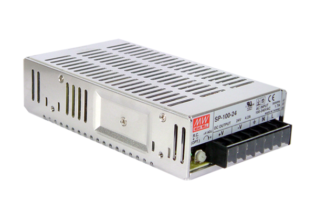 SP-100 Series - 100W Enclosed Switchmode Power Supply from Mean Well