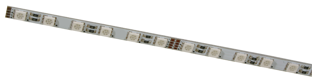 R7-RGB5050-24-36-IP20 RIGID PCB RGB LED strip light bar from PowerLED