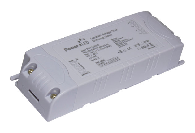 PCV2430TD - 28.8W 24Vdc Triac Dimming Constant Voltage LED Driver from PowerLED