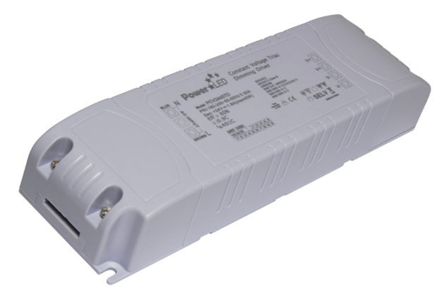 PCV2445TD - 43.2W 24Vdc Triac Dimming Constant Voltage LED Driver from PowerLED