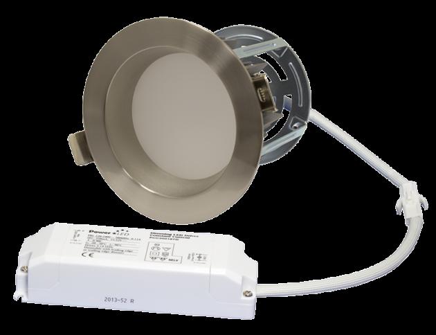 """ZEN 4 Series - 11W 4"""" Dimming LED Downlight Kit - Satin Nickel"""