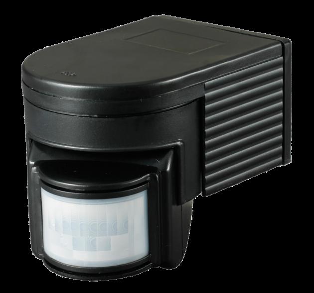 PIR700B Wall Mount Black Outdoor PIR Sensor