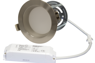"ZEN4 11W3K-SN 11W Fixed 4"" Round 3000K Satin Nickel LED Downlight"