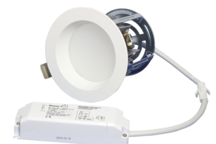 "ZEN4 11W3K-W 11W Fixed 4"" Round 3000K White LED Downlight"