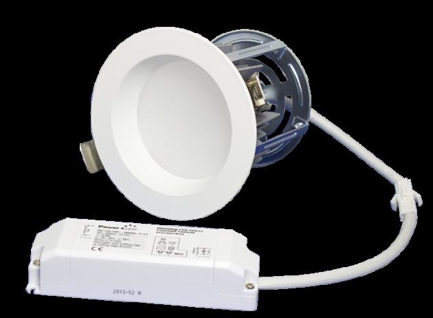 "ZEN4 11W3K-W 11W Fixed 4"" Round 3000K White LED Downlight"