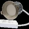 "ZEN5 16W3K-SN 16W Fixed 5"" Round 3000K Satin Nickel LED Downlight"