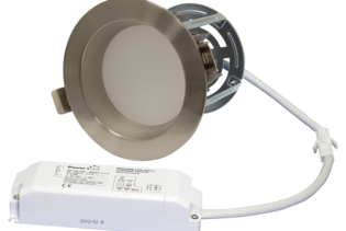 "ZEN5 16W3K-SN 16W Fixed 5"" Round 3000K Satin Nickel LED Downlight"