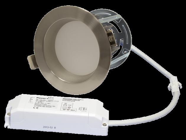 "ZEN5 16W4K-SN 16W Fixed 5"" Round 4000K Satin Nickel LED Downlight"