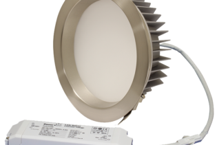 "ZEN7 22W3K-SN 22W Fixed 7"" Round 3000K Satin Nickel LED Downlight"
