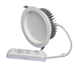 "ZEN7 Series 22W 7"" Dimming LED Downlight Kit"