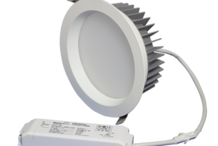 "ZEN8 35W3K-W 35W Fixed 8"" Round 3000K White LED Downlight"