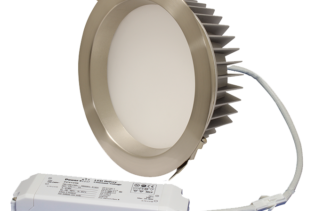 "ZEN8 35W3K-SN 35W Fixed 8"" Round 3000K Satin Nickel LED Downlight"