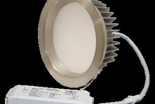 "ZEN8 35W4K-SN 35W Fixed 8"" Round 4000K Satin Nickel LED Downlight"