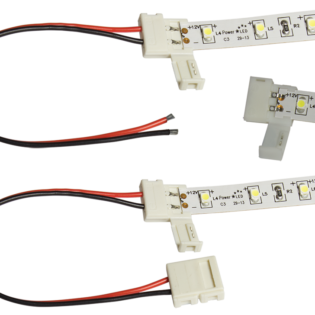 Solderless Connectors for Joining LED Tape