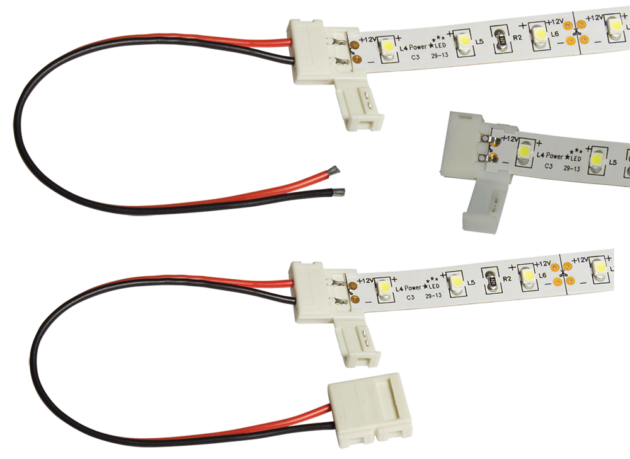 88-MP Solderless Connector Multi-Pack for 8mm LED Flexi Strip