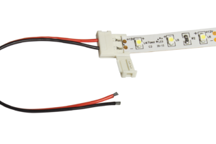 12C12-2 Solderless Tail Connectors for 12mm LED Flexible Tape
