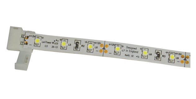 8C-2 Solderless In-Line Joining Connectors for 8mm LED Flexi Strip