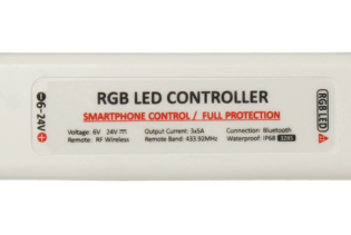RGBW328W - Wireless smart phone RGB LED controller