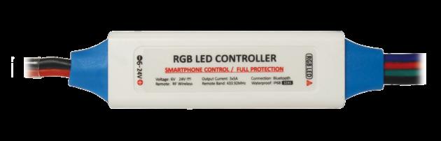 RGBW328W - Wireless smart phone RGB LED controller