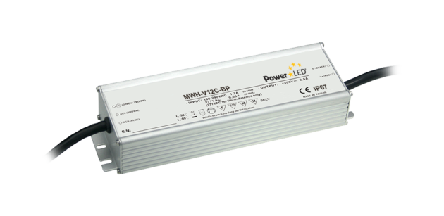 MWH-V12G-BP - 120W IP67 Constant Voltage LED Driver