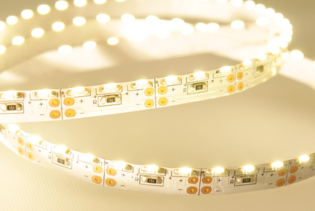 FS8-S1210-12-120-IP20 - Soft White Edge Side Lit 8mm IP20 60LEDs Per Metre