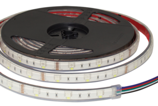 F10-RGBW-12-60-IP67 - 12Vdc RGBW Tape 60 LEDs Per Metre IP67 Rated 10mm LED Flexi Strip