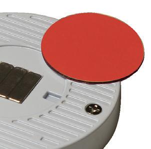 TRIO-3RB60K 3W Black Round 6000K LED Light - Magnetic Attachment